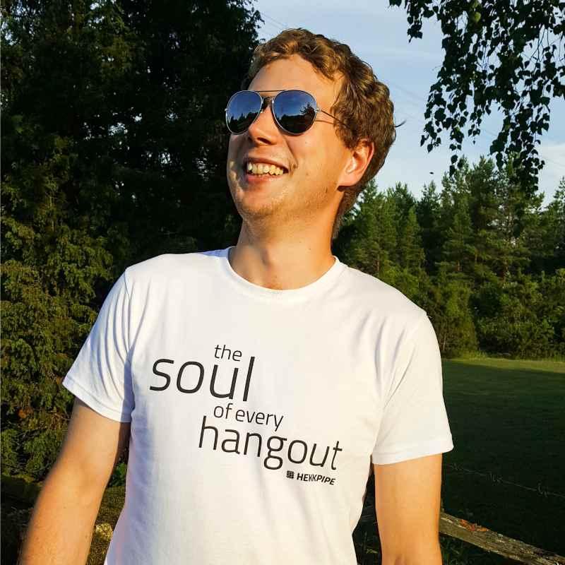 Shisha-Marken-Merchandise - Weißes T-Shirt für Männer - Lifestyle Fan-Ausstattung Foto