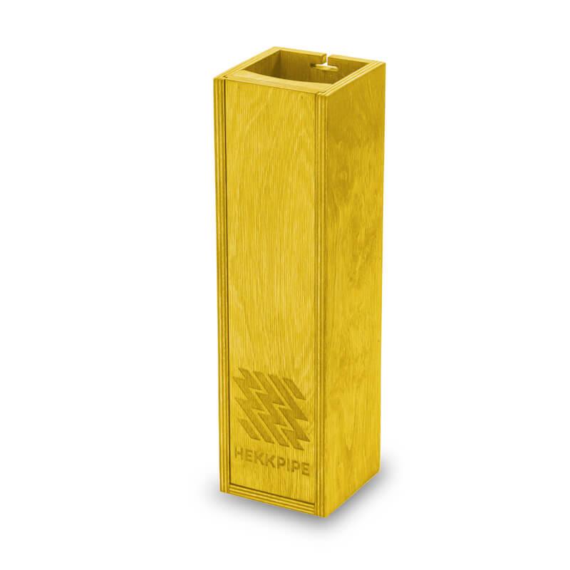 Shishakiste gelb Holzprodukt