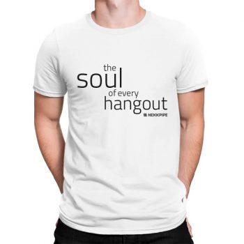 Wasserpfeifen-Merchandise - Weißes Hekkpipe-T-Shirt für Männer
