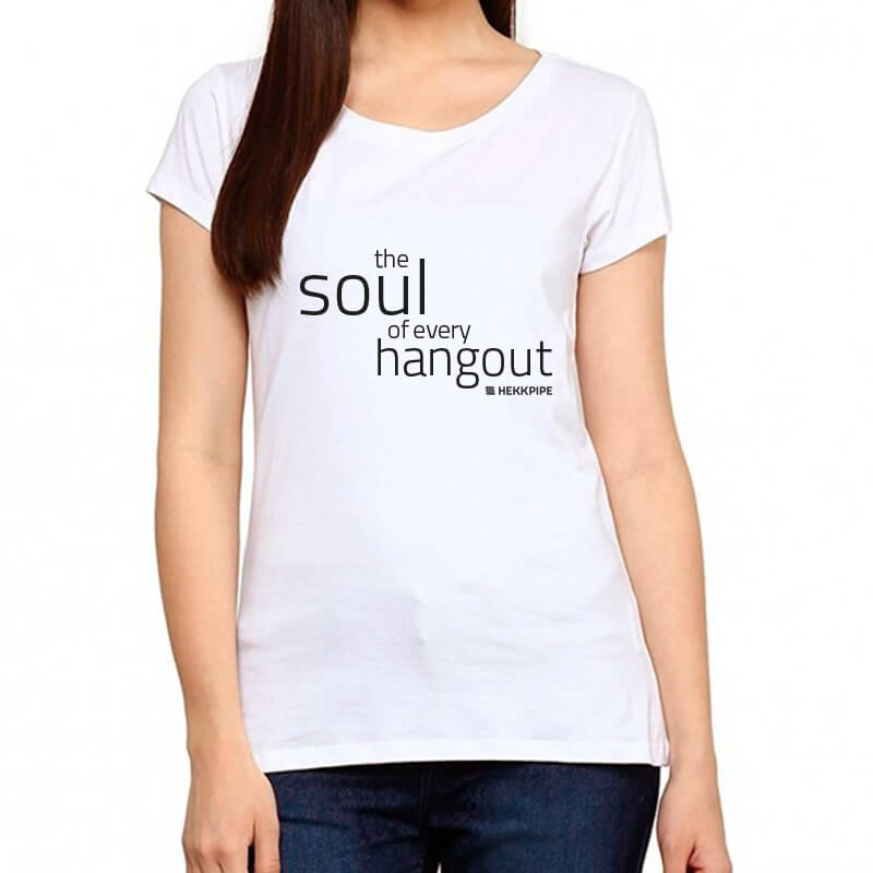 Shisha-Fan-Ausstattung - weißes T-Shirt für Frauen von Hekkpipe