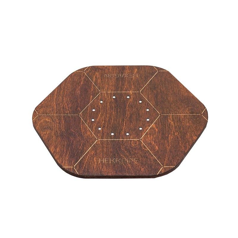Shisha-Platte, die mit Ihrem eigenen Logo oder Design angepasst werden kann, braun